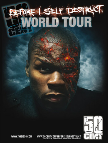 50 Cent - Before I Self Destruct Tour