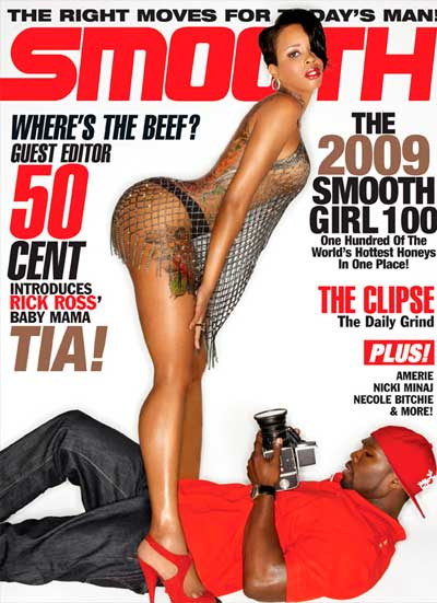 50 Cent Tia Kemps Smooth Magazine