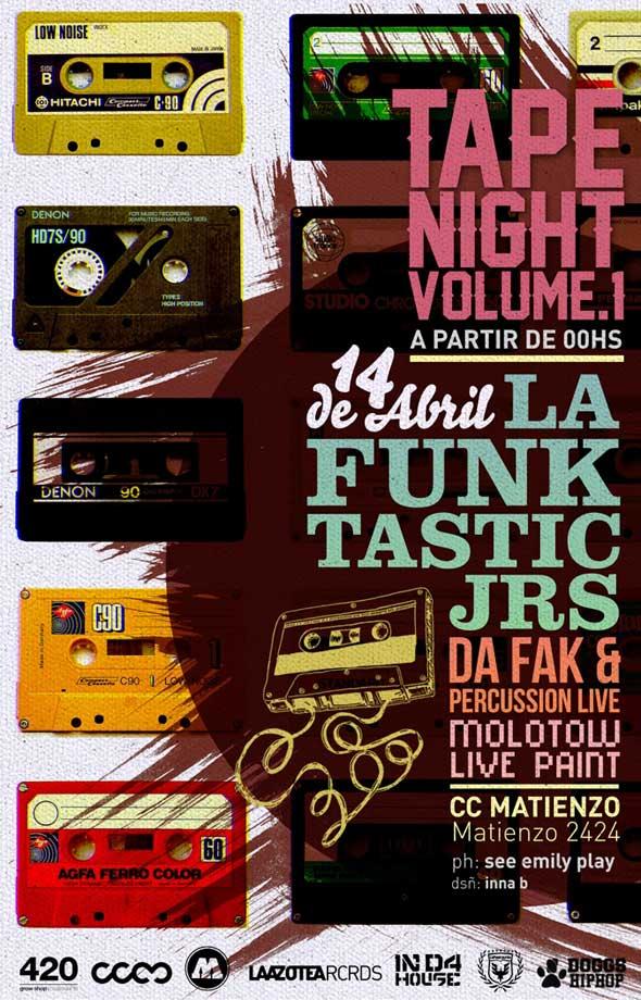 Fiesta Tape Night Vol 1