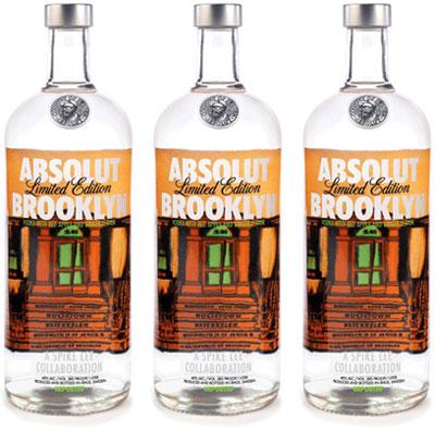 ABSOLUT Spike Lee ABSOLUT Brooklyn Vodka