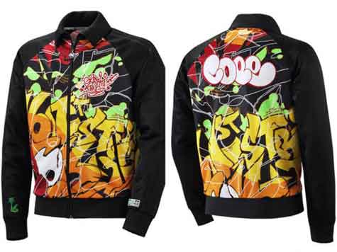 Jacket Adidas x Cope2 x FootLocker Graffiti