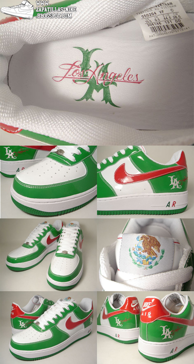 "Nike Air Force One Mr Cartoon LA 2 ""5 de Mayo"" - Zapatillas"