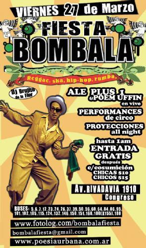 ALe! PLUZ en la Fiesta Bombala - Conciertos y Eventos Hip Hop