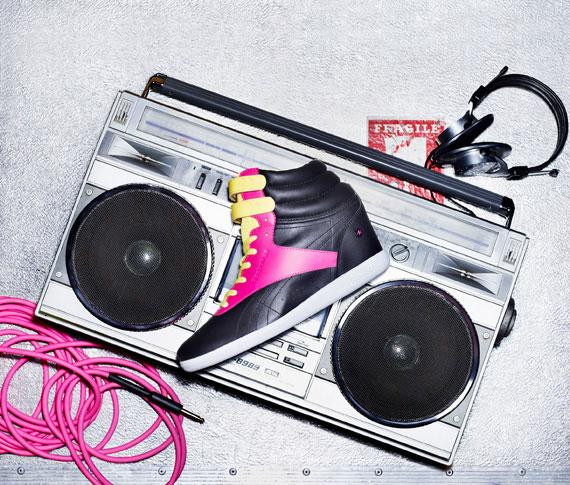 Alicia Keys x Reebok Classics 2013 collection