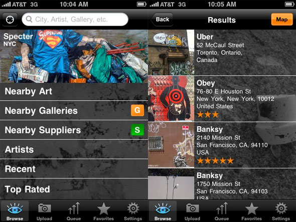 All City Graffiti iPhone app