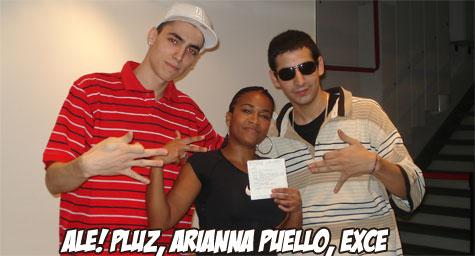 Show de Arianna Puello en Argentina en Latina Urbana, ALe! Pluz y eXce